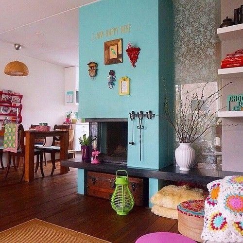 Casas con encanto colorido estilo entre boho y escandinavo 6