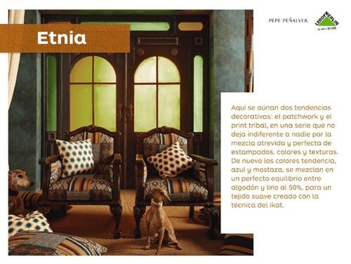 Colección exclusiva de Leroy Merlin y Pepe Peñalver para vestir la casa 1