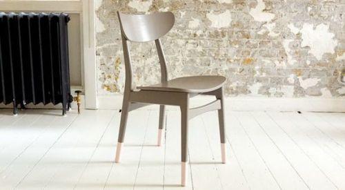 DIY efecto dip pintar muebles con las patas sumergidas... 3
