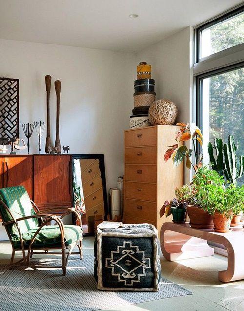 Los 25 rincones con plantas de interior más bellos de Pinterest 2