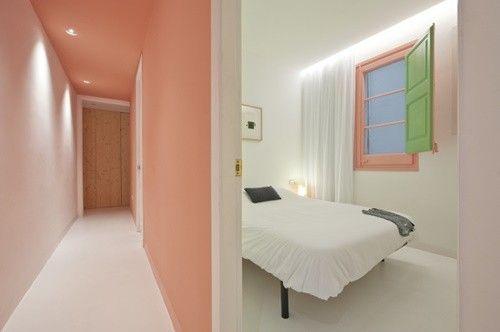 Casas con encanto reforma fuera tabiques de un piso en Barcelona 4