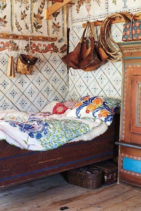 Los 25 dormitorios de estilo boho chic más bellos de Pinterest 1