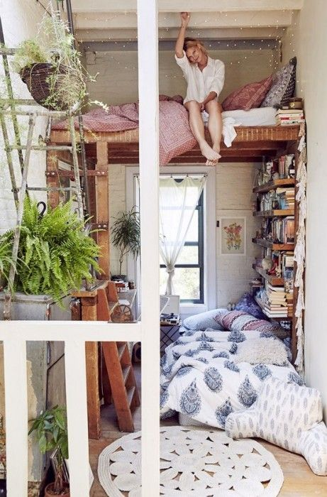 Los 25 dormitorios de estilo boho chic más bellos de Pinterest 14
