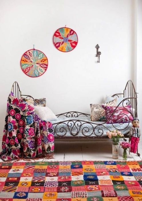Los 25 dormitorios de estilo boho chic más bellos de Pinterest 25