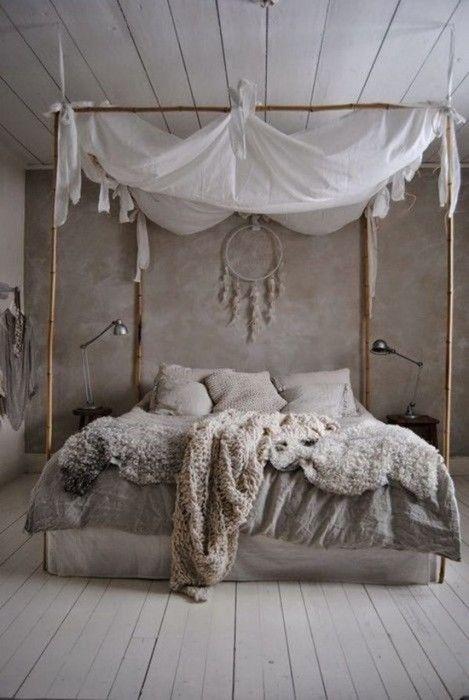 Los 25 dormitorios de estilo boho chic más bellos de Pinterest 8