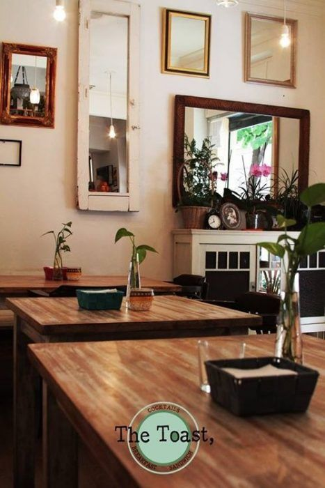 Sitios con encanto The Toast, un bistró vintage para sentirte en casa 2
