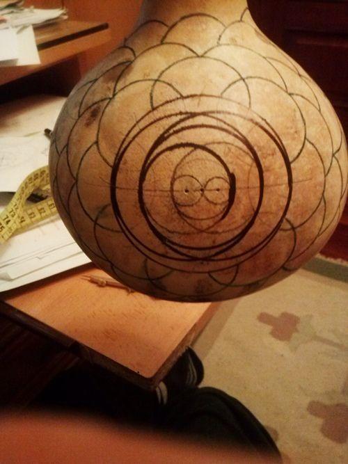 Artesanía con calabazas lámparas originales llenas de misterio 15