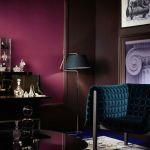 Colores para paredes intensos o ser audaz y pintar la casa con drama 18