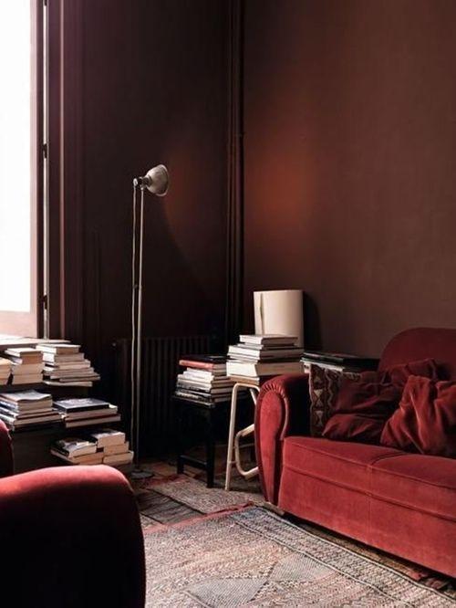 Colores para paredes intensos o ser audaz y pintar la casa con drama10