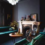 Colores para paredes intensos o ser audaz y pintar la casa con drama12