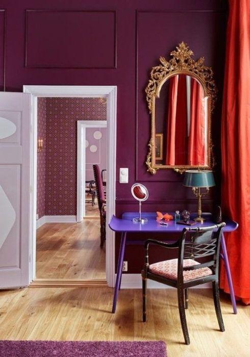 Colores para paredes intensos, y pintar la casa con drama... 2