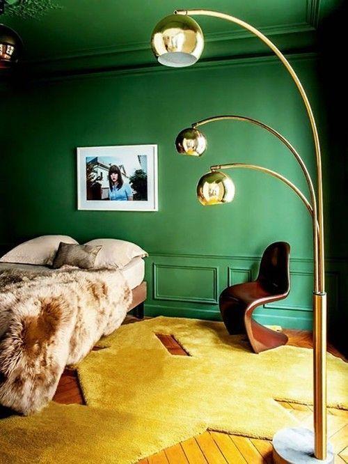 Colores para paredes intensos, y pintar la casa con drama... 15