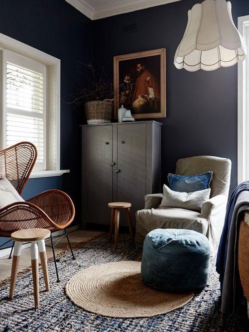 Colores para paredes intensos, y pintar la casa con drama... 12