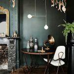 Colores para paredes intensos o ser audaz y pintar la casa con drama8