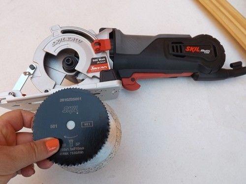 Sierra compacta multimaterial de Skil para trabajos de bricolaje 6