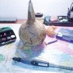 Artesanía con calabazas lámparas originales llenas de misterio 16