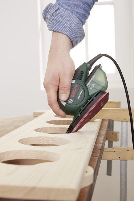 DIY decoracion cómo hacer baldas de madera para plantas 7