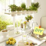 DIY decoración: cómo hacer baldas de madera para plantas