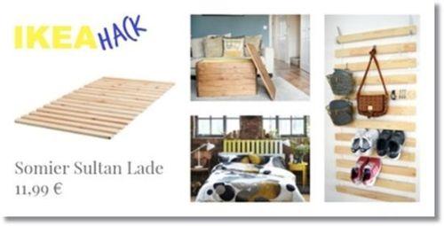 Tunear muebles ikea 5 ideas originales con un somier de lamas 1
