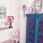 Casas con encanto piso pequeño con decoración boho chic singular 16