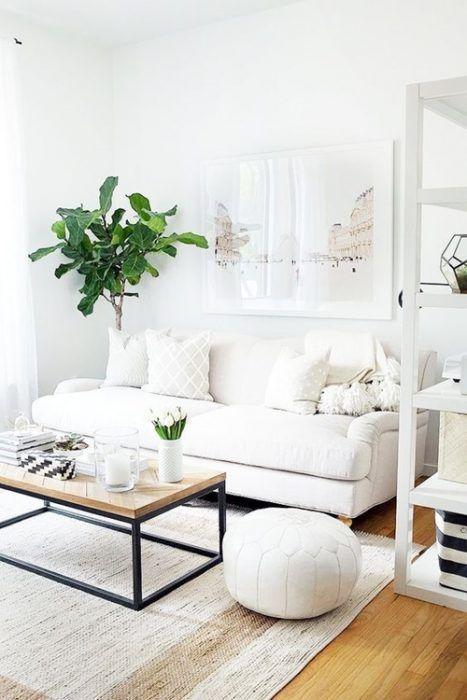 Colores para paredes c mo pintar un apartamento moderno - Muebles naturales para pintar ...