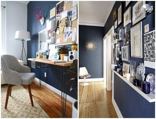 Colores para paredes c mo pintar un apartamento moderno - Como amueblar un piso ...
