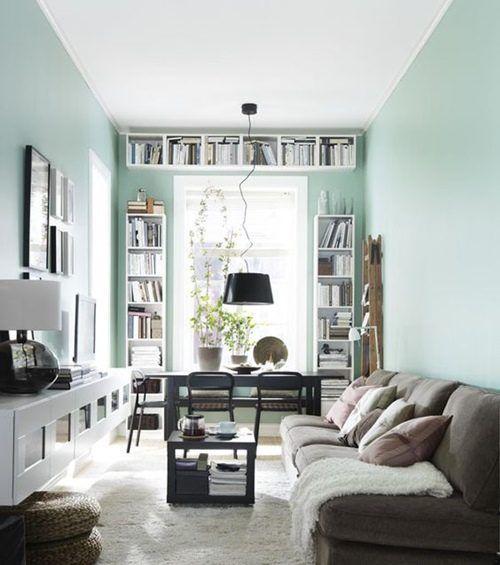 Colores para paredes: cómo pintar un apartamento moderno | Decomanitas