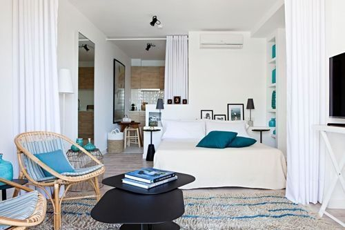 Casas con encanto dolce vita en un apartamento de 40 m2 en Ibiza 1