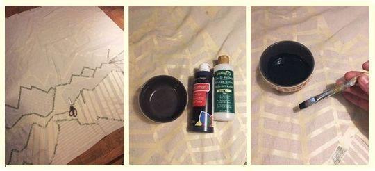hacer-cortinas-y-pintarlas-con-dibujos-geometricos-facil-3
