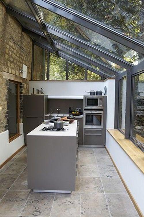 20 cerramientos y techos de cristal bellos y prácticos para tu casa ...