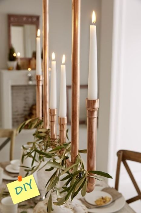 decoracion-navidena-reciclando-tubo-de-cobre-1