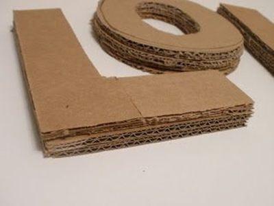 3 ideas para reciclar y decorar con cart n de cajas y for Ideas para decorar la casa reciclando