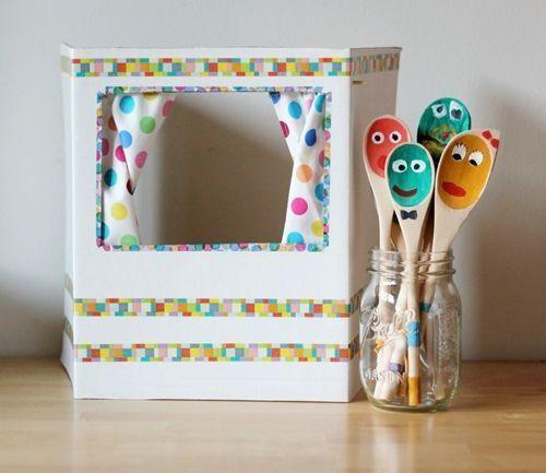ideas para reciclar y decorar Ideas Para Reciclar Y Decorar Con Cartn De Cajas Y Envos