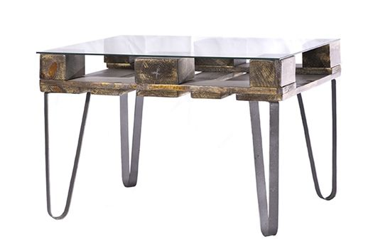 Decoracion vintage muebles con palets y reciclados ideas for Comedor hecho de palets