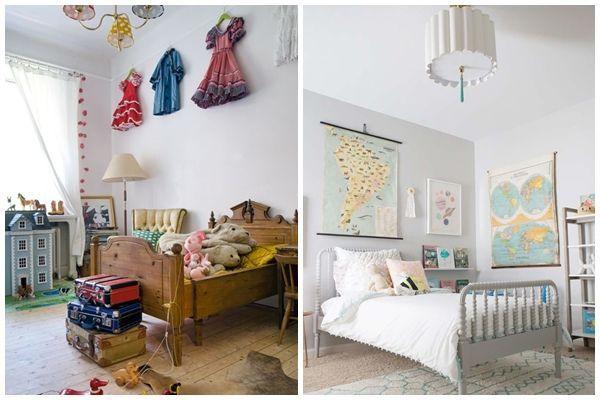 Camas para 2 nios simple habitacin infantil con tres - Camas para ninos de dos anos ...