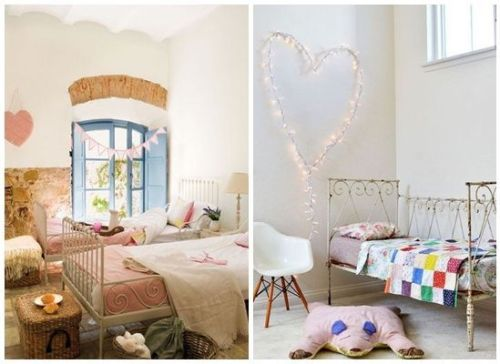 Dos ideas para decorar habitaciones infantiles originales en estilo vintage.