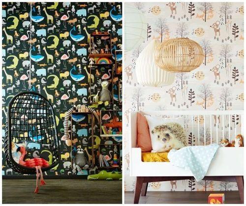 Ideas para decorar habitaciones infantiles originales con - Cuartos de ninos pintados ...