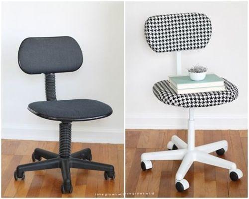 Decoracion vintage muebles con palets y reciclados ideas para decorar una casa y manualidades - Sillas ergonomicas para estudiar ...