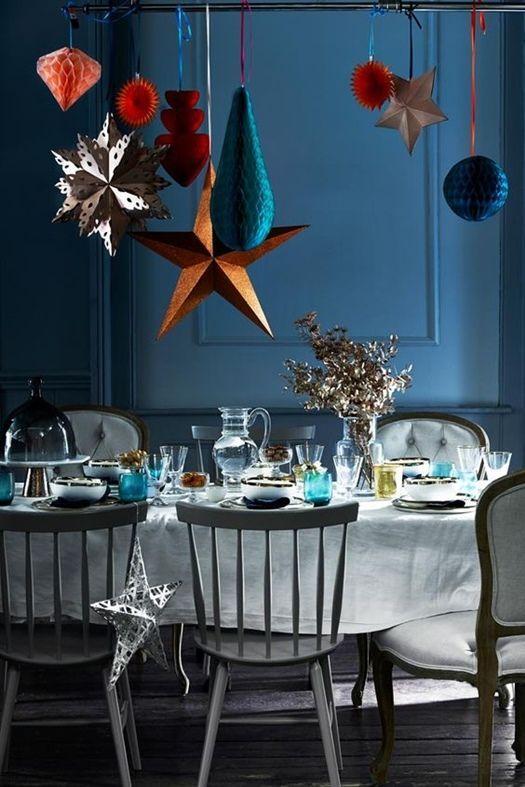 Decoracion vintage muebles con palets y reciclados ideas - Mesas de navidad decoradas ...