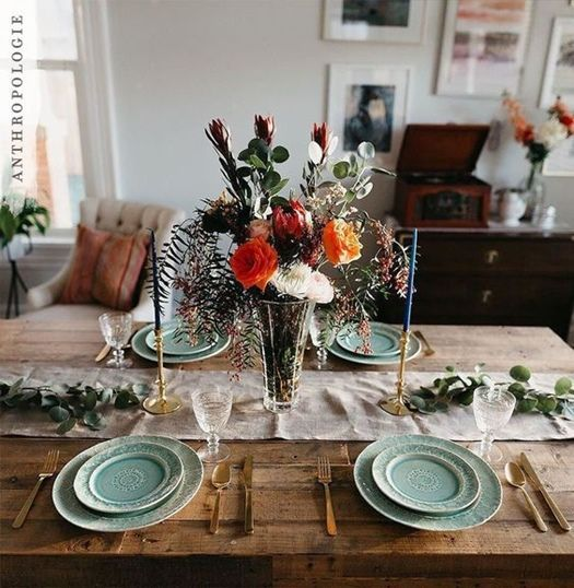 12 mesas de comedor decoradas para navidad y otros d as - Mesas decoradas para navidad ...