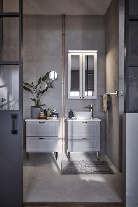 Ideas de ayer y hoy para decorar baños vintage.