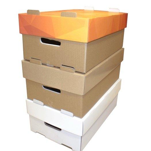 cajas de cartón para ropa modulares y con tapa