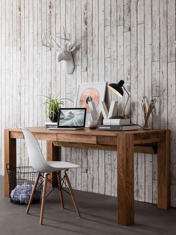 Escritorio ideal para decorar una oficina en casa.