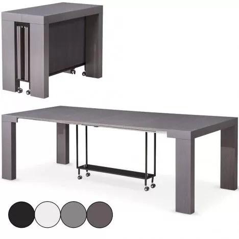 table console extensible 12 places castilla 4 coloris decome store