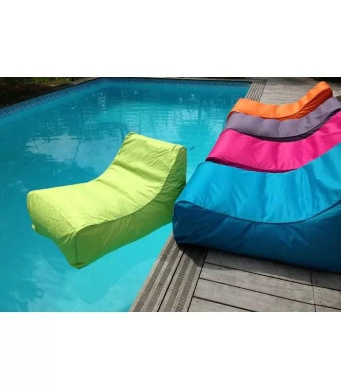 fauteuil de piscine gonflable impermeable kiwi 5 coloris