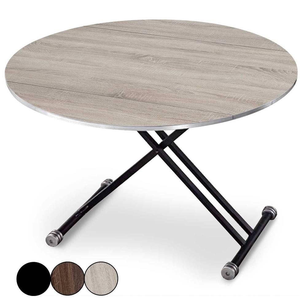 table basse relevable et extensible