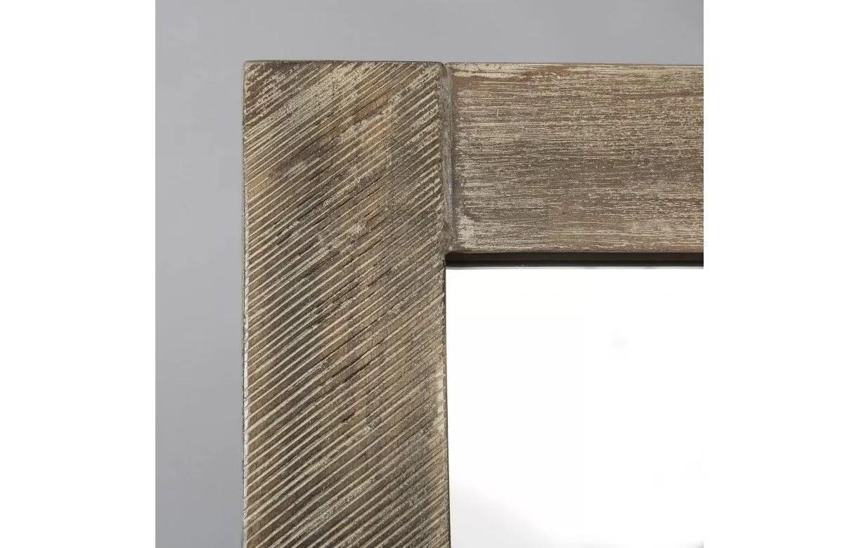 bois massif patine 120 x 100 cm