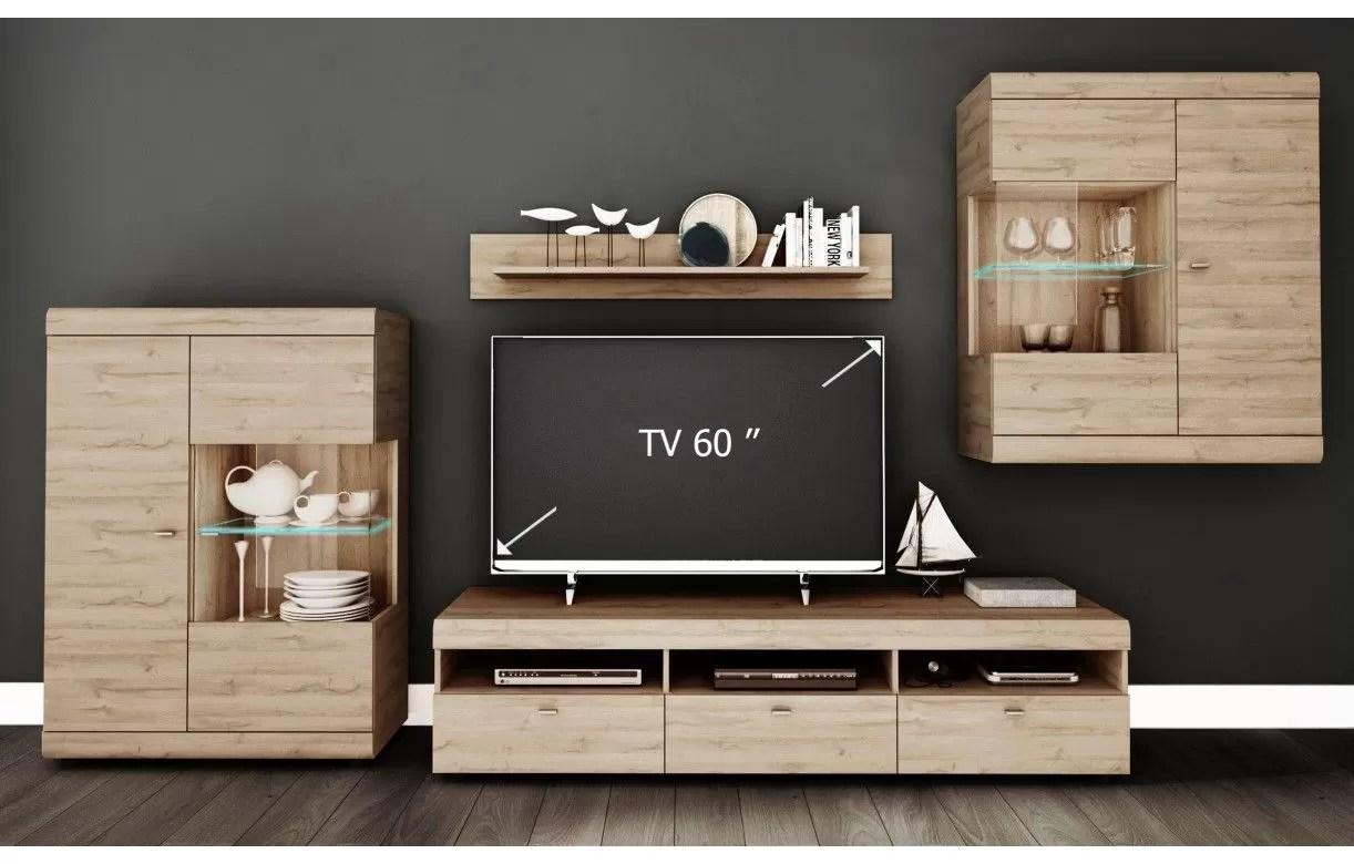 ensemble de meubles tv design en bois