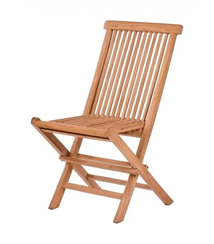table et 6 chaises jardin bois massif avec rallonge integree denpasar