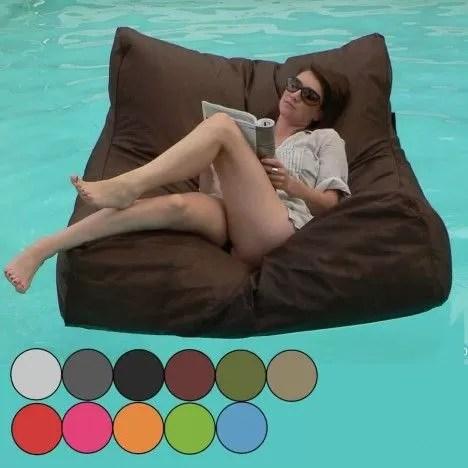 pouf geant canape fauteuil de piscine sit in pool 11 coloris